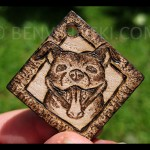 Smiley Pitbul Pendant