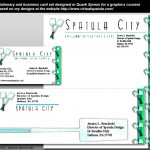 Spatula City Sample Stationary